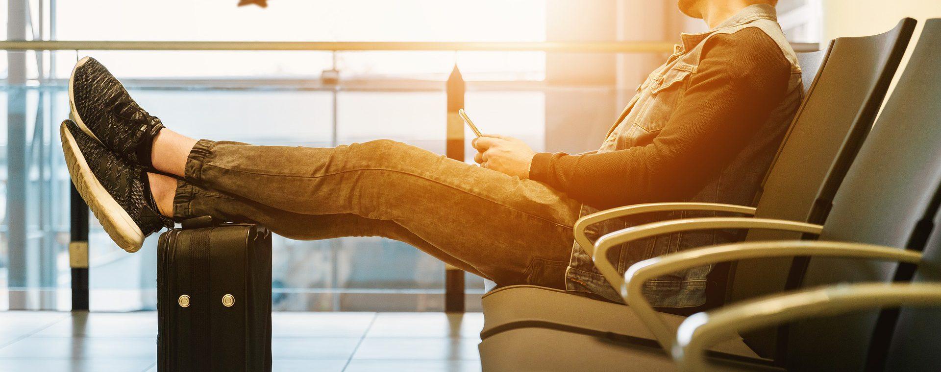 Bagage op het vliegtuig