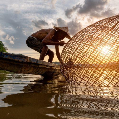 Privé cruise op de Mekong
