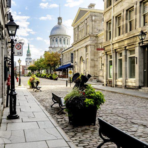 Quebec, en Montreal