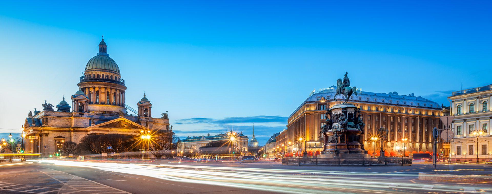 Annick op ontdekking in Sint-Petersburg