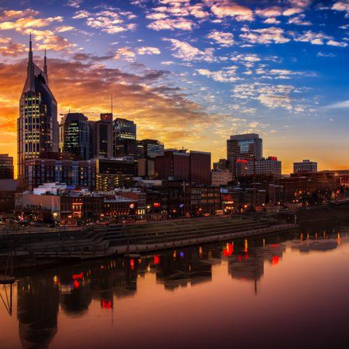 Nashville en Memphis