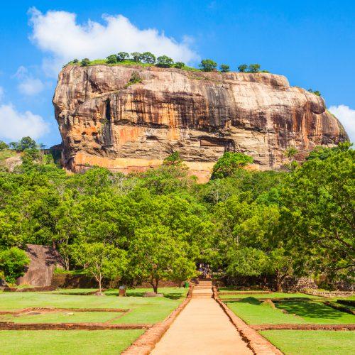 De leeuwenrots van Sigirya
